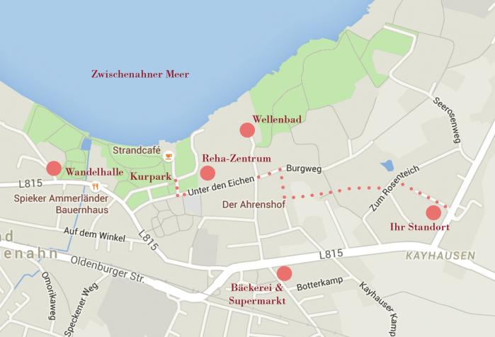 Ferienwohnungen in Bad Zwischenahn vermietet Fam. Thörmann